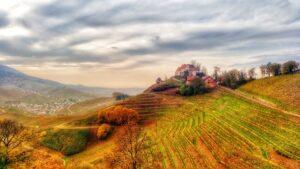 Herbst am Durbacher Schloss
